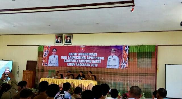 Parosil Resmi Launching APB-Pekon 2019