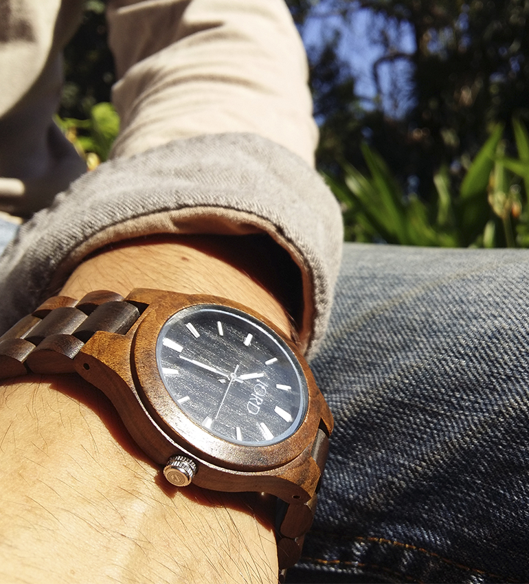 Jord wood watch sandalwood unique men's watch