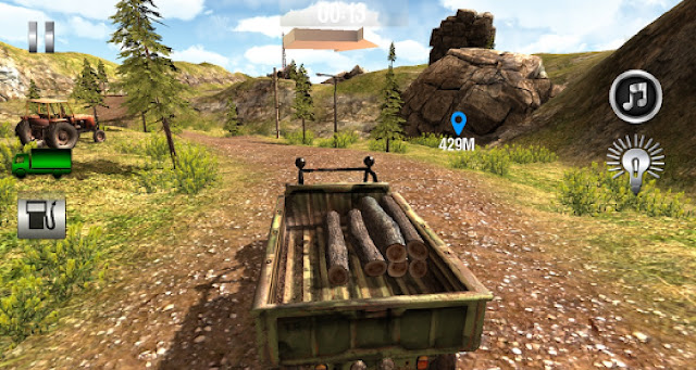 Truck Driver 3D : Offroad