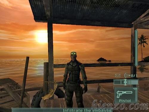 Tom Clancy's Splinter Cell - Pandora Tomorrow PC Gameplay