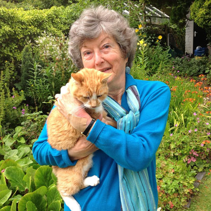 Mary Keenan Cats Protection's Colwyn & District Branch