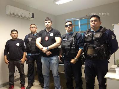 GRAÇA-CE: POLICIAIS CUMPREM MANDADO DE BUSCA E APREENSÃO NA CIDADE