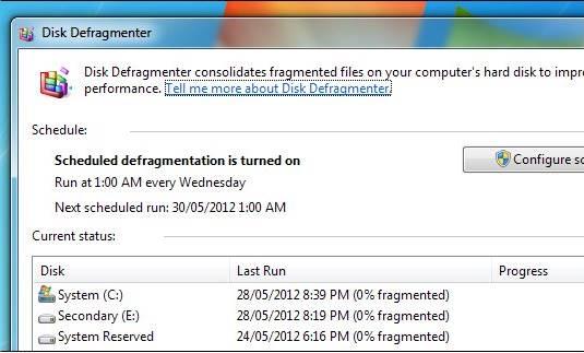 Mengapa Linux tidak perlu defragmenting?