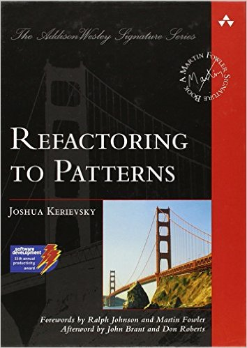 Refactoring to Patterns front cover