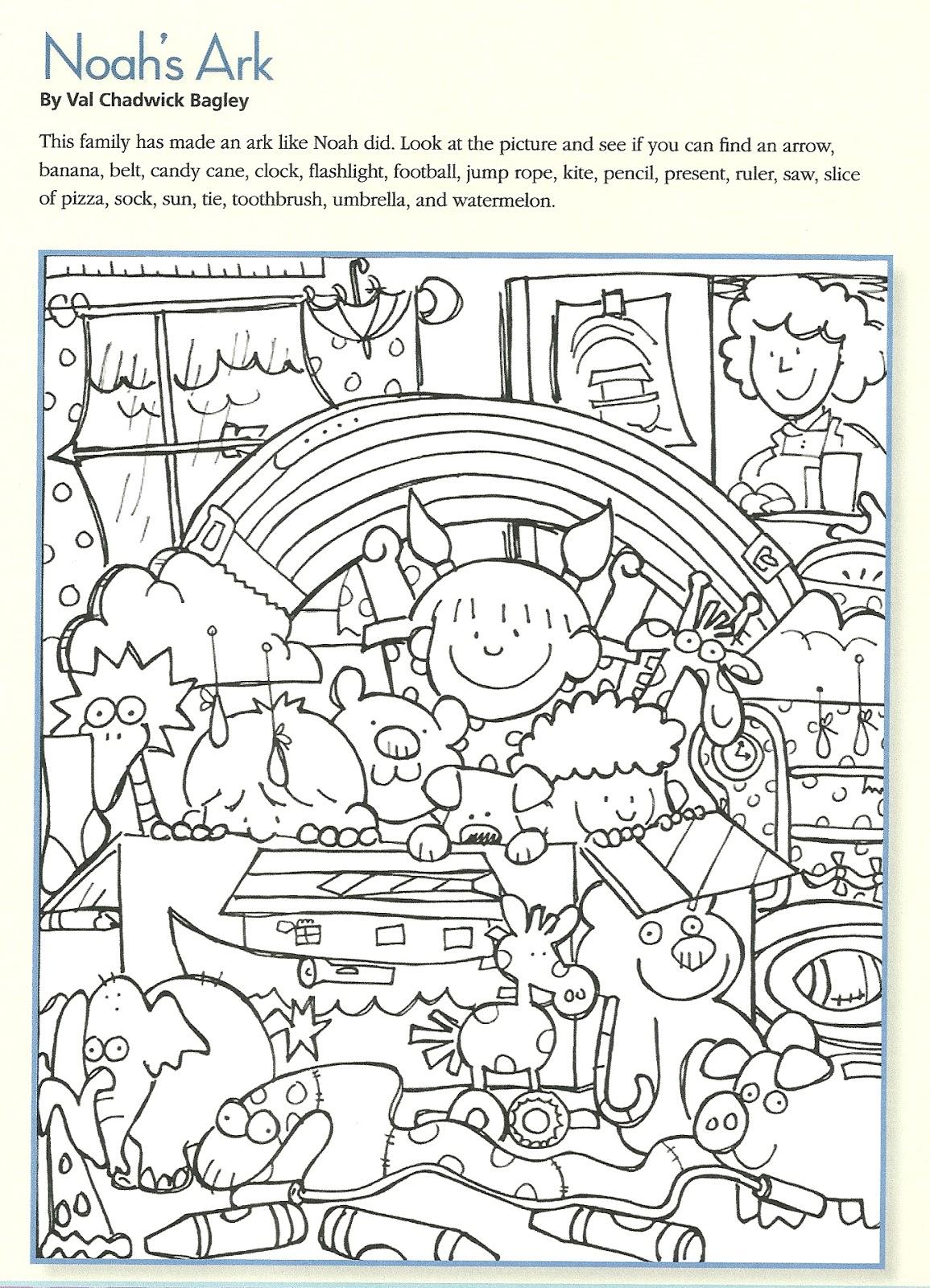 Fun Activities For Kids Of Noah Ark
