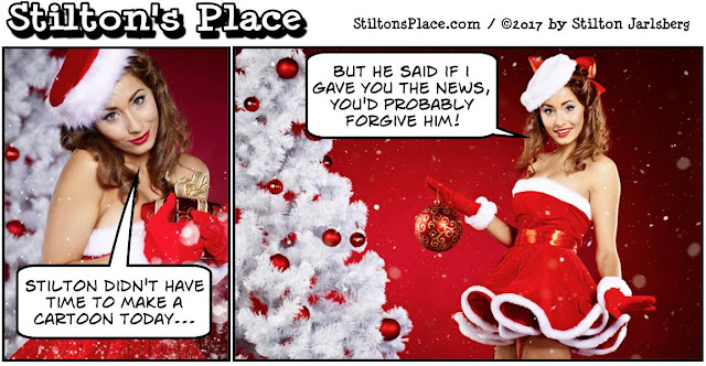 stilton's place, stilton, political, humor, conservative, cartoons, jokes, hope n' change, busty ross, christmas