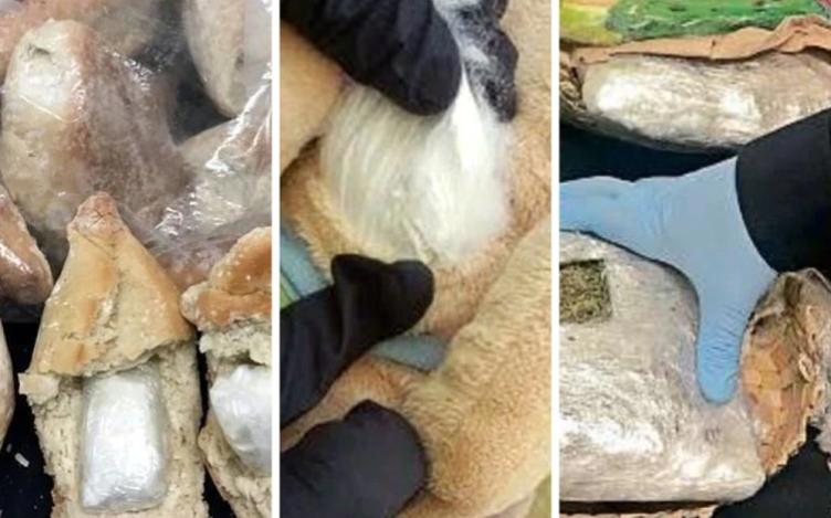 Refacciones, peluches y bolillos: las más ocurrentes formas en que los carteles mexicanos han intentado traficar drogas