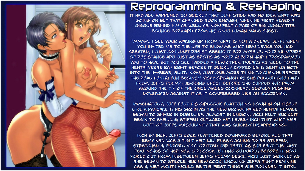 Male To Female Transformation Hentai
