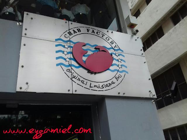 Makan Seafood di Crab Factory, SS2 Petaling Jaya