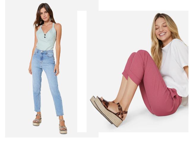 Como usar sandália plataforma com vários tipos de looks