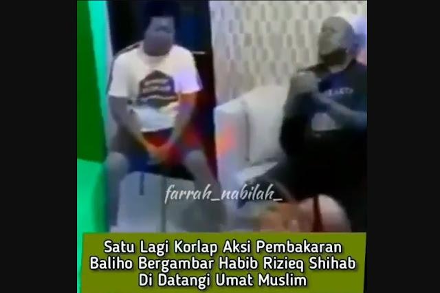 Pembakar Poster Tak Segarang Aksinya, Aslinya Mlempem Kayak Krupuk