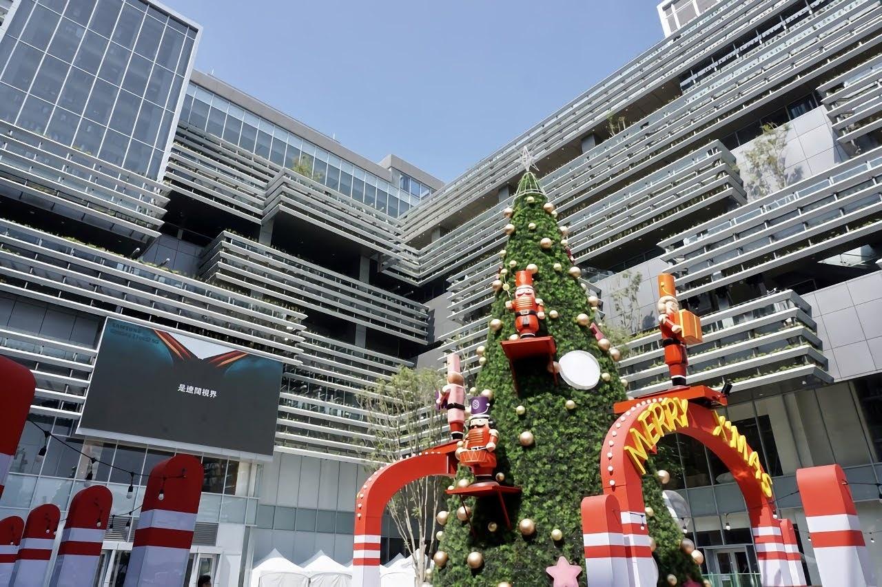 南紡購物中心二館2020聖誕節開幕|將成為台南占地最廣的百貨商城