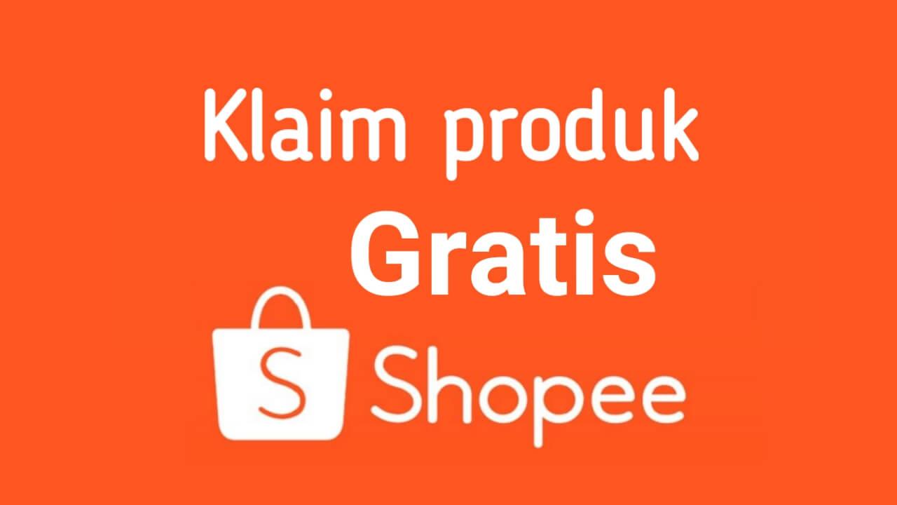 Cara daftar di Shopee berikut klaim produk barang gratisnya