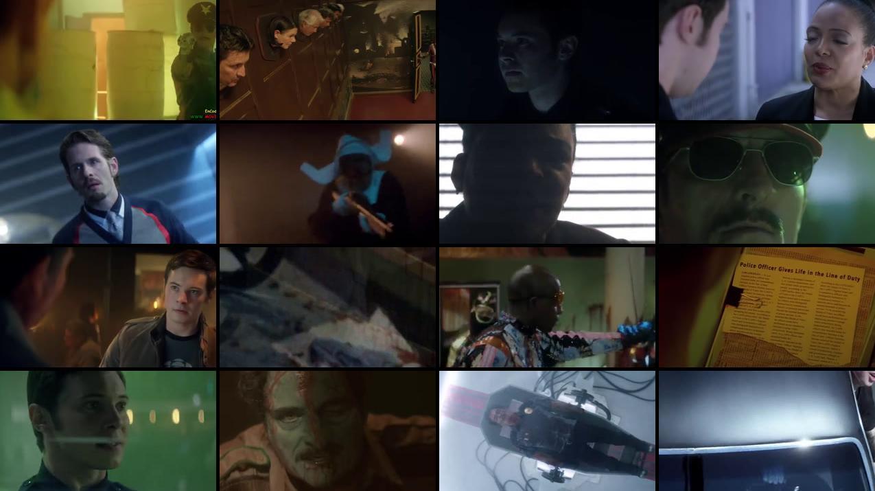 Officer Downe 2016 BluRay 180MB x265 Movie Screenshots