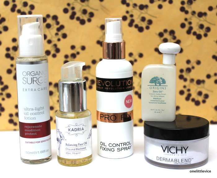 One Little Vice UK Beauty Blog: Organic Sugre Kadria Vichy Origins products for oily combination skin