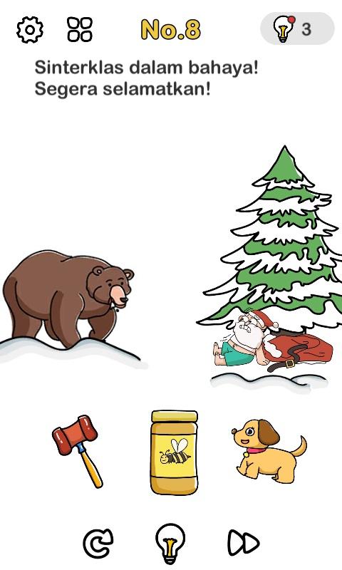 Sinterklas Dalam Bahaya Segera Selamatkan : sinterklas, dalam, bahaya, segera, selamatkan, Kunci, Jawaban, Brain, Terbaru, Level, 1-200, Server, Gambar
