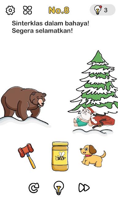 Sinterklas dalam bahaya! Segera selamatkan!