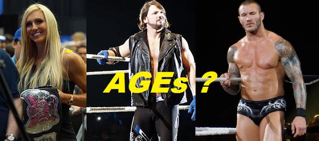 wwe wrestlers age