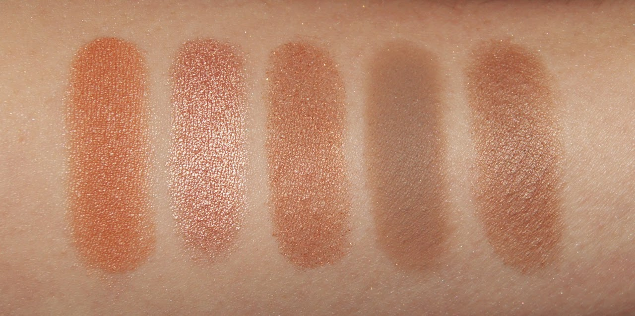 mac eyeshadow collection review swatches arena all that glitters honesty omega era