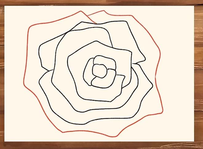Cara Menggambar Bunga Mawar Menggunakan Pensil Untuk Pemula Step ...
