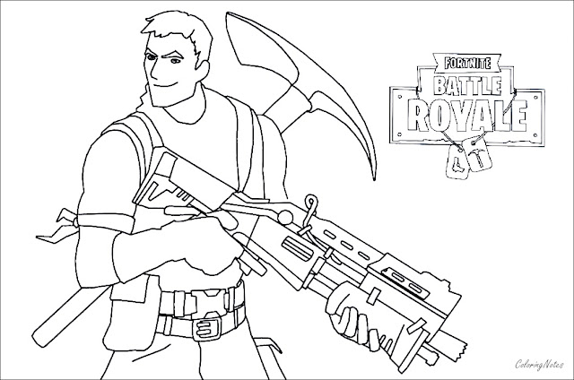 Fortnite Raven Skin Coloring Pages Amatcard Co