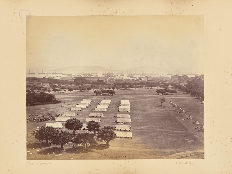 The Harbour, Bombay (Mumbai) - Circa 1870's