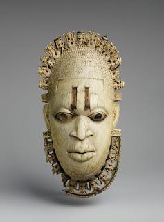 Hip Pendant Representing an Iyoba Queen (Queen Mother)