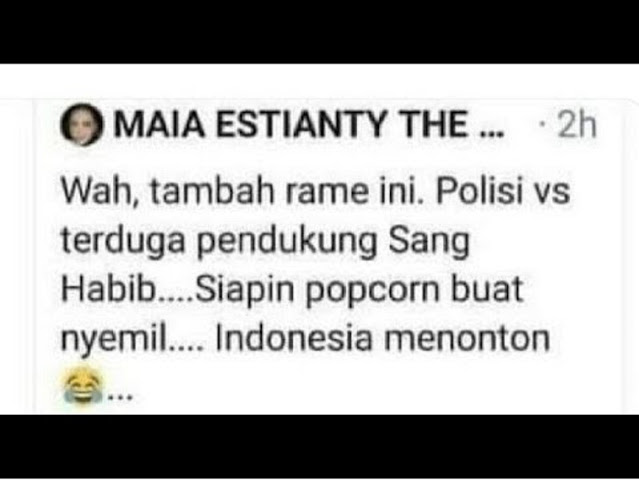 Netizen Ingatkan Maia: Waktu Anakmu Tewaskan 7 Nyawa, Nyimak Sambil Makan Popcorn Gak?