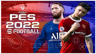 Download PES 2022 PPSSPP Android Update Transfer HD Graphics Real Face & New Boots