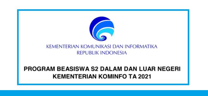 gambar beasiswa s2 kominfo 2021