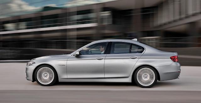 2014 BMW 5-Series sedan silver