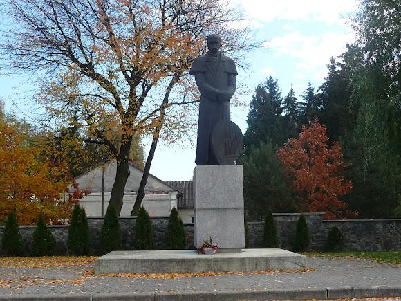 Жидачов. Памятник Шевченко