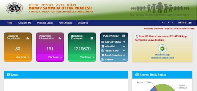 मानव सम्पदा पोर्टल Manav Sampada Portal official website