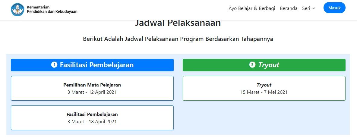 Link dan Jadwal Pendaftaran Guru Belajar Seri PPPK Link dan Jadwal Pendaftaran Guru Belajar Seri PPPK