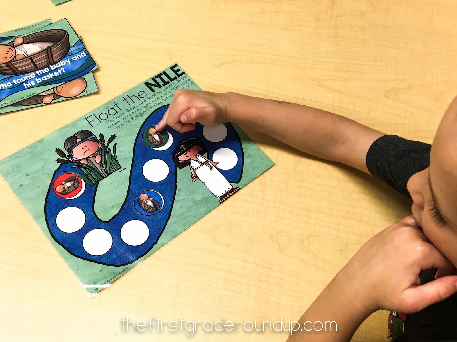 Moses Crafts and Games Firstgraderoundup