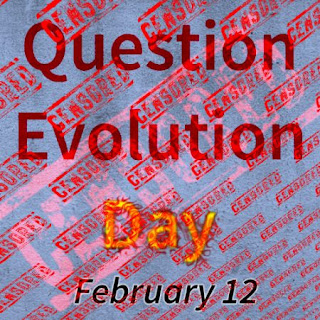 The parallels between world events and attacks on creationists show a need for us to use and preserve free speech. #questionevolutionday is a part of this.