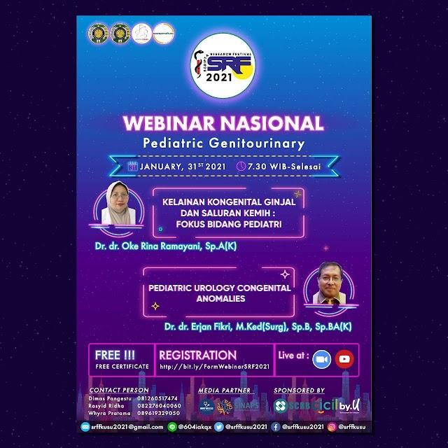 "Free Webinar ""Pediatric Genitourinary"""