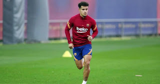 Barcelona midfielder Coutinho to be available for Atletico clash as he completes full training