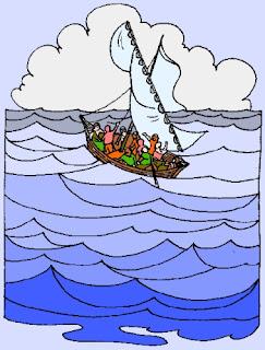 Gesù calma la tempesta