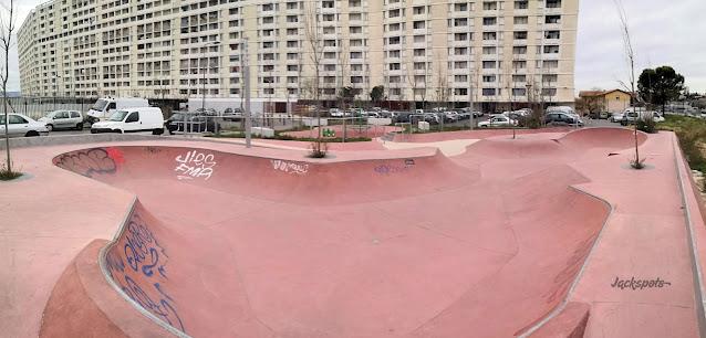 skatepark marseille lauriers 13e