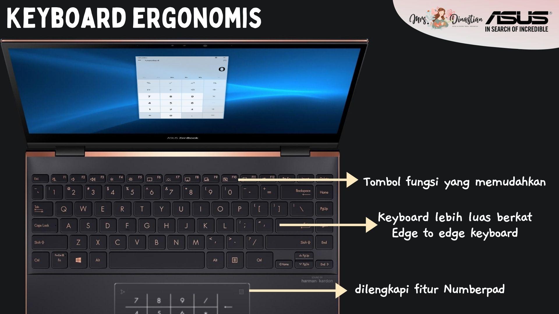 Keyboard ASUS Zenbook Flip S UX371