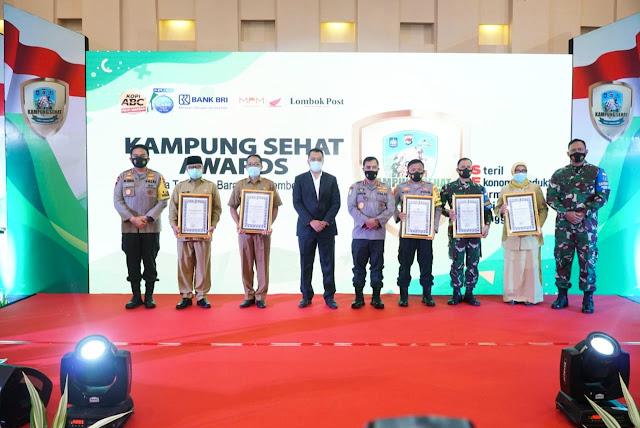 Kampung Sehat Awards, Lotim raih 4 penghargaan