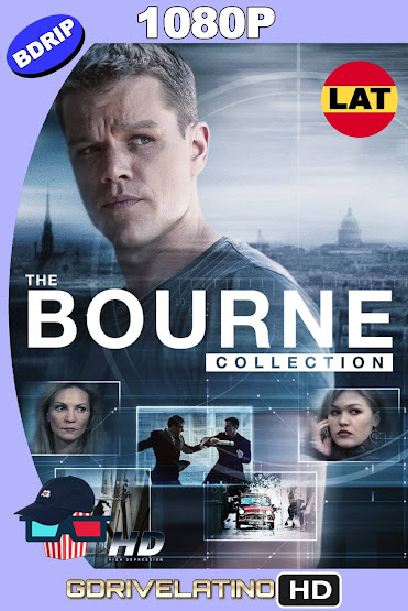 Bourne (2002-2016) Colección BDRip 1080p Latino-Ingles MKV