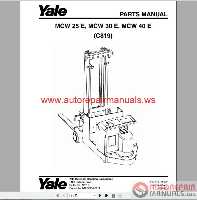Yale Pallet Jack Wiring Diagram Electrical Circuit Electrical