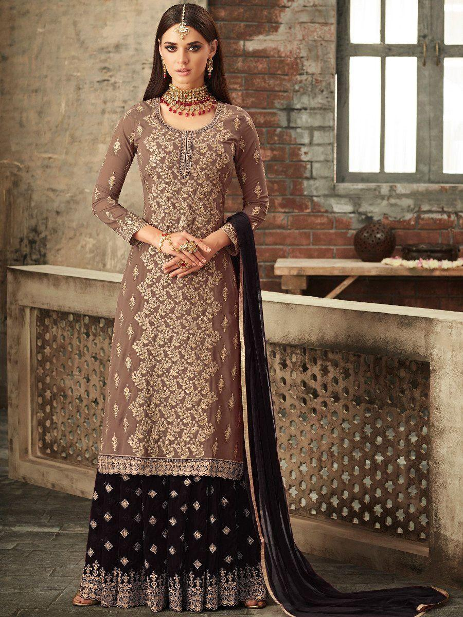 Attractive Sharara Salwar Suit