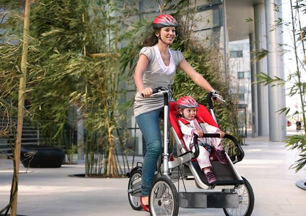 Sepeda Unik Dari TAGA Cocok Untuk Ibu Dengan Balita