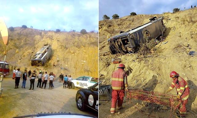 Accidente en Talara deja 8 muertos y 45 heridos