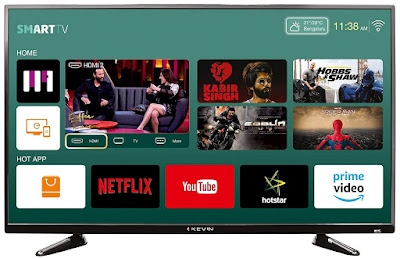 8. Kevin KN40S Full HD Smart LED TV (40 inch)
