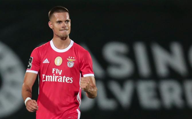 Weigl marcou o golo da reviravolta para o Benfica