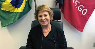 Nilda Gondim quer que MDB indique a nora dela como candidata a vice de João